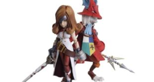 Square Enix will sell a set of Freya and Beatrix figures from Final Fantasy IX