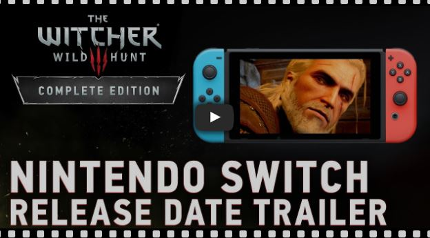 God of War's father is delighted with the version of The Witcher for Nintendo Switch