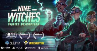 Nine Witches: Family Disruption is on the way to the Nintendo switch