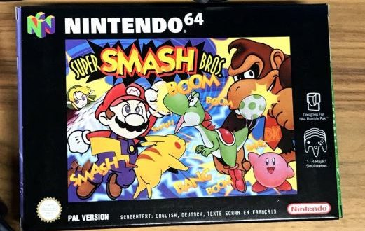 On this day 20 years ago, Super Smash Bros. was released for Nintendo 64 in Europe