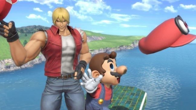 """Terry Bogard and update version 6.0.0. Today for """" Super Smash Bros. Ultimate"""""""