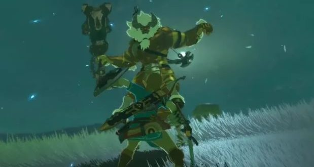 You need to see this Breath of the wild expert completely destroy a Lynel