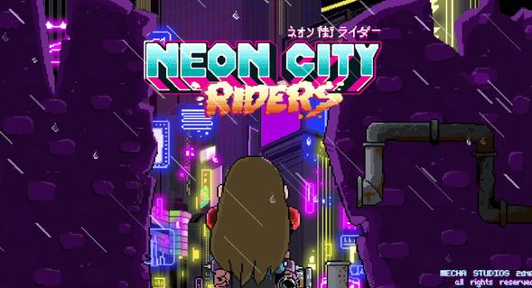 Neon City Riders will be released on Nintendo Switch next year