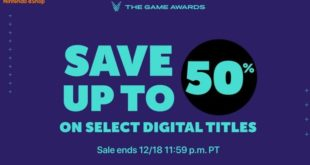 Nintendo starts an eShop promotion that offers up to 50% off to celebrate The Game Awards 2019