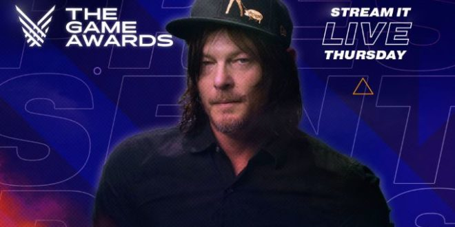 Norman Reedus will be a co-host at The Game Awards 2019