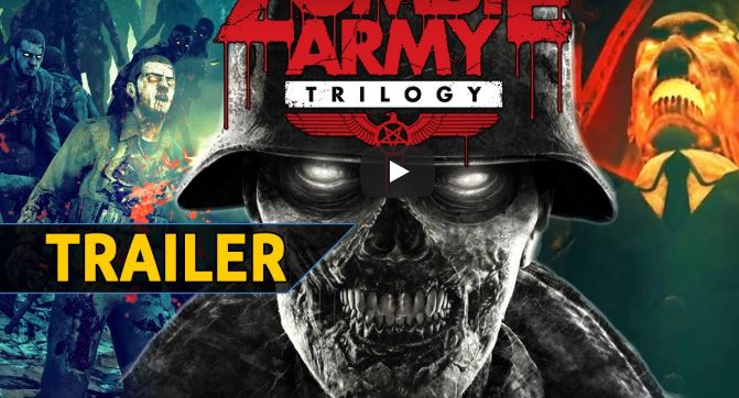 Zombie Army Trilogy announced for Nintendo switch