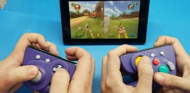 How to make joysticks for the Nintendo Switch from the original GameCube controller