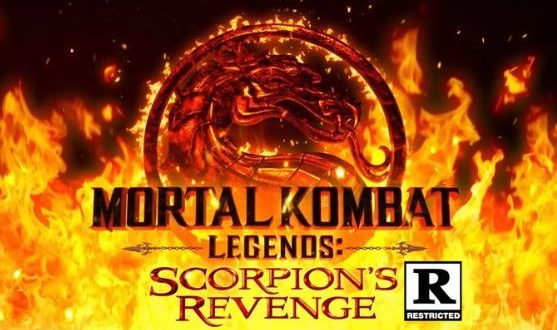 The animated movie Mortal Kombat Legends: Scorpion's Revenge is rated R (Restricted)