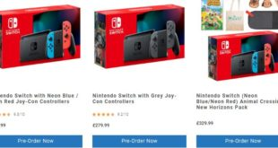 The original Nintendo Switch is coming back at UK retailers
