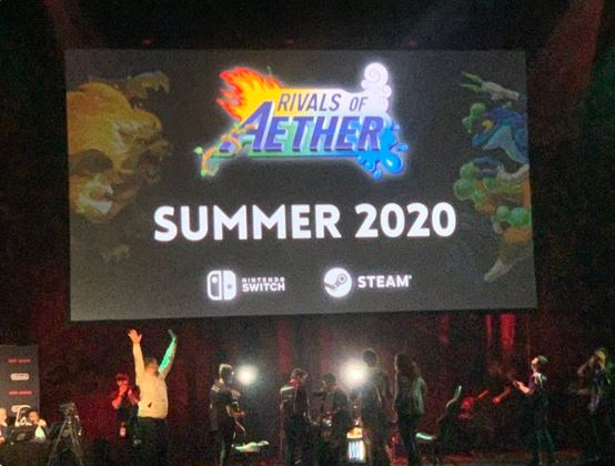Rivals of Aether is releasing on Nintendo switch is Summer(Confirmed at Genesis 7)