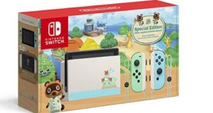 Nintendo Switch - Animal Crossing: New Horizons Edition has become the best seller on Amazon