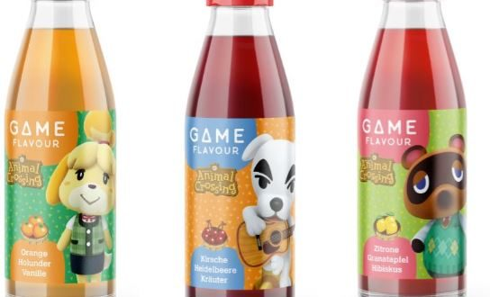 Drinks inspired by Animal Crossing: New Horizons in Germany