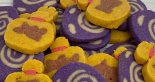 Cinnamon sugar cookies inspired by Animal Crossing: New Horizons