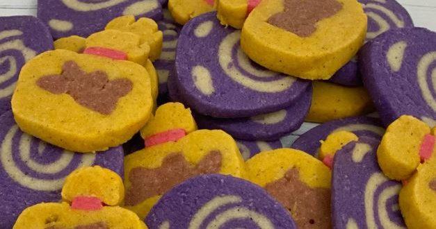 Cinnamon sugar cookies inspired by Animal Crossing: New Horizons