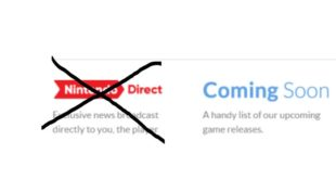 Nintendo Direct has been canceled (Nintendo Direct section disappeared)