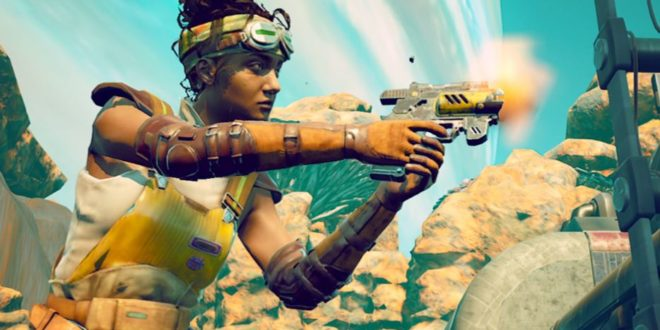 The very first screenshots of the Switch version of The Outer Worlds