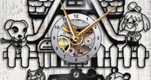 Beautiful wall clock inspired by Animal Crossing: New Horizons