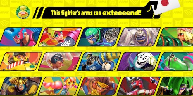 A fighter from ARMS is coming to Smash Bros. ultimate in June