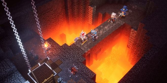 The second DLC for Minecraft Dungeons will be released on September 8