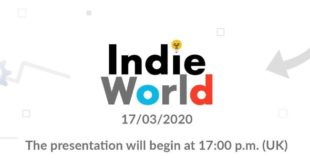 New Indie World presentation announced for tomorrow March 17