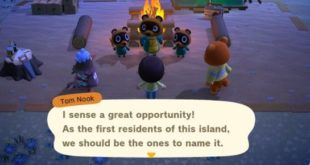 Animal Crossing: New Horizons Island name must have 10 letters or less