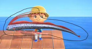 The easy trick to catch the Oarfish in Animal Crossing: New Horizons