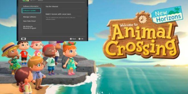 Animal Crossing: New Horizons updated to version 1.1.1