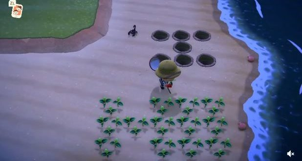 With this trick, you can easily catch tarantulas and scorpions in Animal Crossing: New Horizons