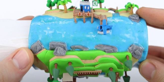 Animal Crossing: New Horizons + an empty toilet paper roll = magic