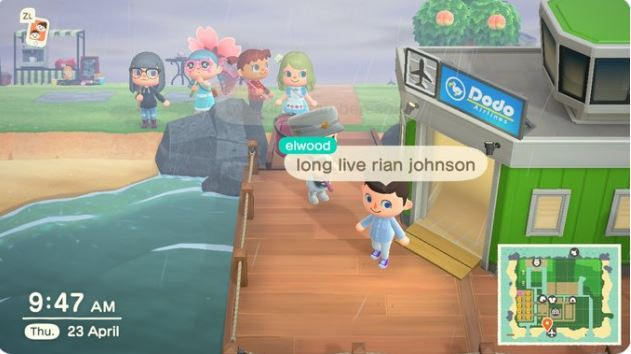 Lord Of The Rings actor Elijah Wood Surprised a Fan with an Animal Crossing Pop-in