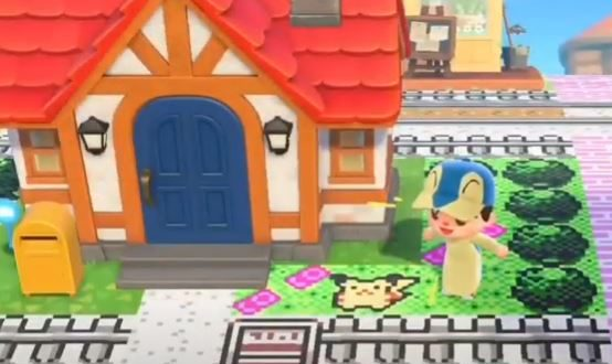 Japanese gamer recreated Pokémon Gold and Silver in Animal Crossing: New Horizons