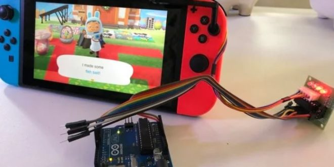 This machine allows you to create baits automatically in Animal Crossing: New Horizons