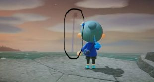 A player saw a strange thing in Animal Crossing: New Horizons