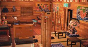 A Fan Recreates Izakaya(Bar) in Animal Crossing: New Horizons