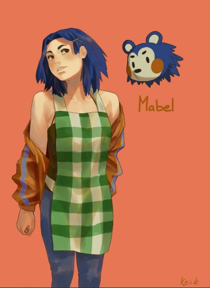 A Canadian Artist Reimagines Animal Crossing Characters As People