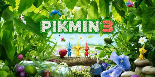 Nintendo Switch receives Pikmin 3 soon