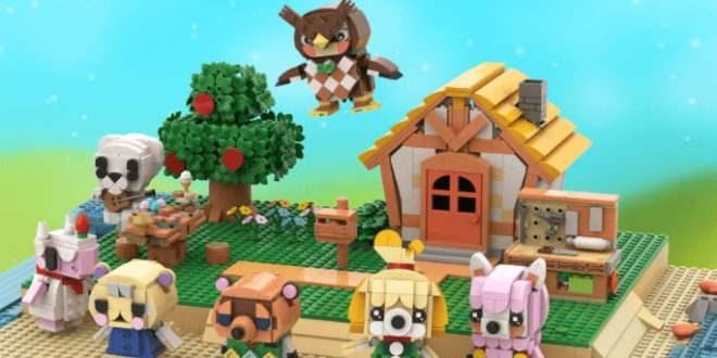 5 LEGO projects based on Animal Crossing that could come true