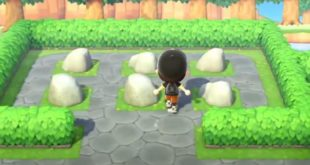 How To Move Annoying Rocks On Your Island In Animal Crossing: New Horizons