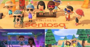 Sentosa Resort In Singapore Virtually Reopens In Animal Crossing: New Horizons