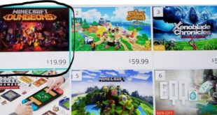 Minecraft Dungeons outperforms Animal Crossing: New Horizons On The US Switch eShop