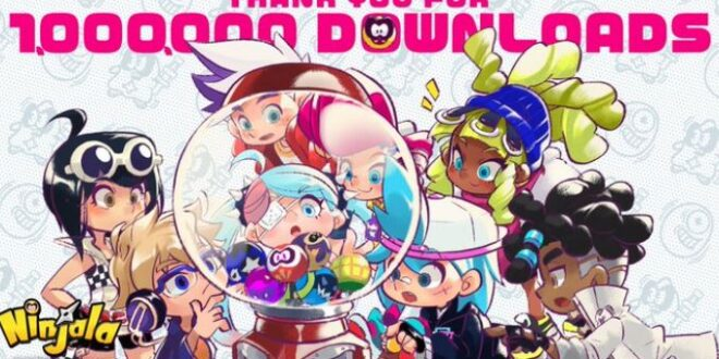 Ninjala, the free-to-play online action battle game surpasses one million downloads
