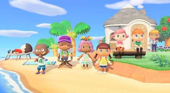 Sandy-beach Flooring in Animal Crossing: New Horizons how to get it and recipe to create it