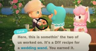 How to Get the Wedding Wand and Fence in Animal Crossing: New Horizons