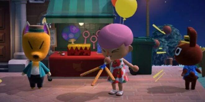 Animal Crossing: New Horizons update brings dreaming, fireworks shows