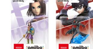 Joker and Hero amiibo launch on September 25 in Japan and October 2 in America