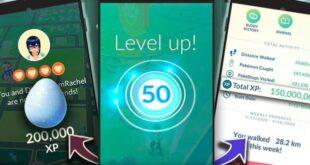 Pokemon Go Level 50 XP Requirements and Bonuses