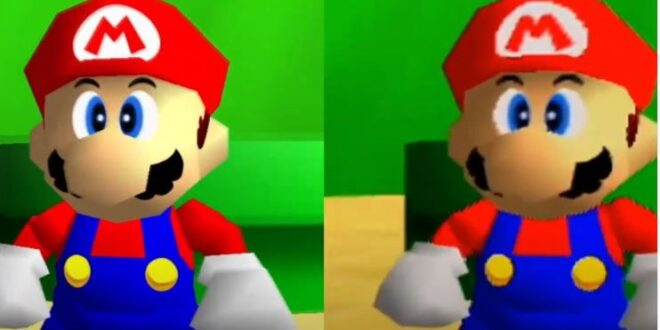 Nintendo has worked on graphics in Super Mario 3D All-Stars