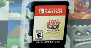 American Fans of Super Mario 3D All-Stars claim that the design of its cartridge is ruined
