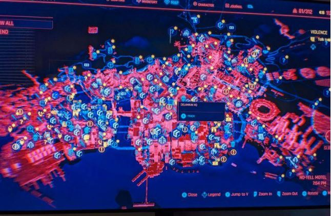 Cyberpunk 2077 map size compared to AC Valhalla, Ghost of Tsushima, and other great games