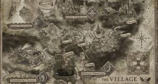 Resident Evil Village map reveals new locations